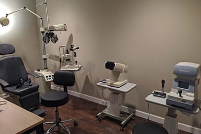 eye exam room near oakville mo