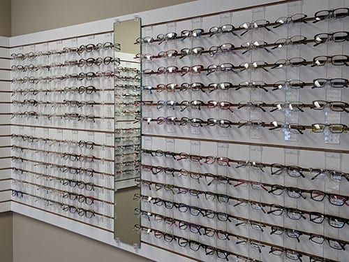 eye glasses selections oakville mo