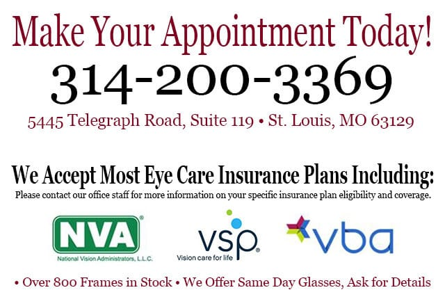 eye insurance plans accepted stlouis missouri